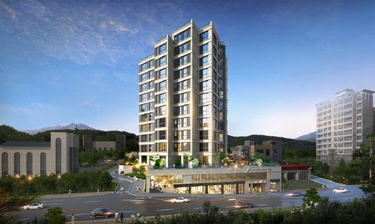 지난 21일 광주 `봉선동 한국아델리움57` 모델하우스 오픈